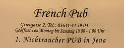French Pub Jena
