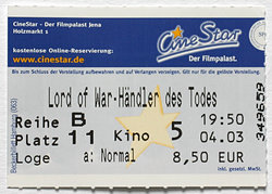 Lord of War - Kinoticket