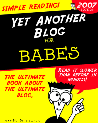 Yet Another Blog for Dummies