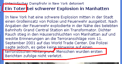 Manhatten oder Manhattan?