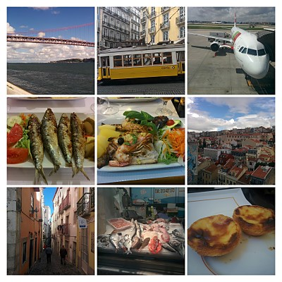 Lissabon Collage